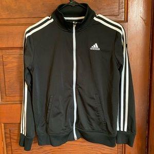 Adidas track jacket youth medium 10-12